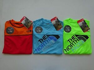 North Face Boy's Hike Water Long Sleeve Tee NWT