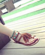 Bohemia style Ethnic Customs Handwork String Beads Ankle Chain Bracelet Anklets
