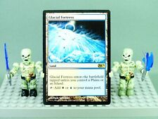 MTG Glacial Fortress Magic 2012 NM Nonfoil Magic Card Land Collectable (2)