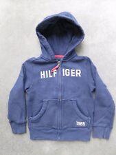 Tommy Hilfiger - Kapuzen Sweatjacke  - Gr.104/110 4/5Y blau