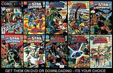 ALL STAR SQUADRON COLLECTION OF 70 DIGITAL COMICS