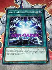 Carte Yu Gi Oh AIDE A LA FUSION CYBERNETIQUE LEDD-FRB13 x 3
