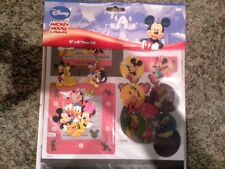"""Disney Mickey Mouse and Friends 8""""x8"""" page kit - stickers paper NEW"""
