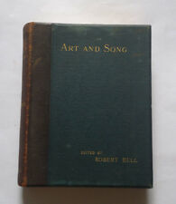 ART AND SONG edited by Robert Bell: In Poems & Steel Engravings / Artists / 1867