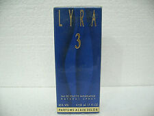LYRA 3 Eau De Toilette Spray 50ML by Alain Delon New in Sealed Box RARE TO FIND