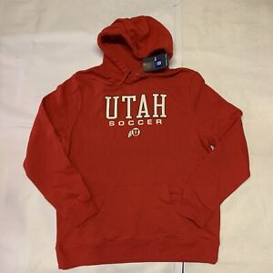 New Men's Original Fanatics College Utah Utes Hoodie Sz XL