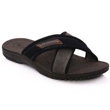 Pantofole da uomo neri Rieker