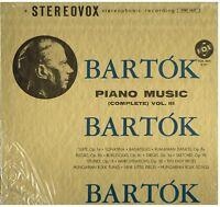 Bartok: Piano Music Volume III ( Suite, Sonatina, Bagatelles) / Gyorgy Sandor LP