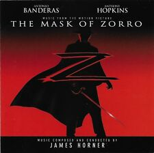 The Mask of Zorro by James Horner CD 1998 Sony Classical