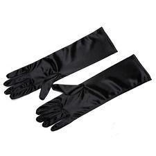 Mini Holly Black Satin Gloves Inspired By Breakfast At Tiffany's