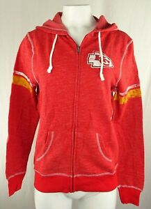 Kansas City Chiefs NFL Majestic Women's Full-Zip Hoodie