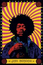JIMI HENDRIX - PSYCHEDELIC POSTER 24x36 - MUSIC A-17