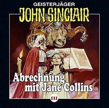 John Sinclair CD Folge 111 Abrechnung mit Jane Collins(Teil 2 von 2)  OVP