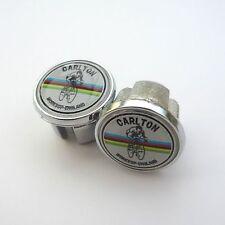 Vintage Style, Carlton, Worksop, England, Chrome Racing Bar Plugs, Caps, Repro
