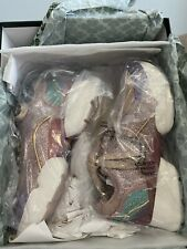 Kate Spade Cloud Glitter couch shell women's shoe's Sneaker's Purple Pink 8M New