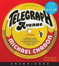 Telegraph Avenue by Michael Chabon 15 CDS Unabridged NEW A NOVEL