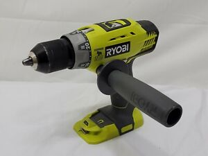 RYOBI P214 18-Volt ONE+ Cordless 1/2 in. Hammer Drill/Driver {TOOL ONLY} 2020