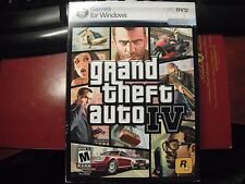 Grand Theft Auto IV (PC, 2008) Complete w/Discs/Case/Manual/Inserts/Key/Poster