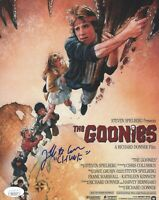 """JEFF COHEN Signed 8x10 Photo GOONIES """"Chunk"""" In Person Autograph JSA COA"""