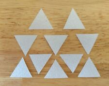 STOMP PAD CLEAR WATERPROOF GRIP TRIANGLES *10 PACK* SNOWBOARD SURFBOARD SCOOTER