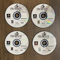 Sony PlayStation 1 ps1  Final Fantasy IX FF9 DISCS ONLY 1-4