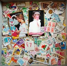 World Mix Stamps 500 pcs with Diana