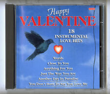 Happy Valentine 18 Instrumental Love Hits / CD (Instrumental Album)