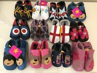 Star Child Soft Real Leather Baby Shoes 0-18 Months