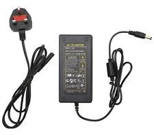 Power Adapter 100-240V AC to 12V DC 4A 48W Transformer for 12V UK Plug
