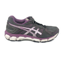 Asics Gel Forte Running Shoes Womens Size 7.5 7 1/2 Gray Purple Sneakers T359N