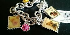 US Postage Stamps Charms Love Bracelet Bear Puppy Valentine Hearts I Love You