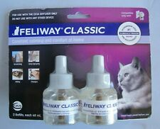 FELIWAY CLASSIC Diffuser Refill for Cats 2 pack 48 ml each