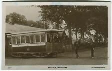 More details for the bus, inchture, tram - perthshire postcard