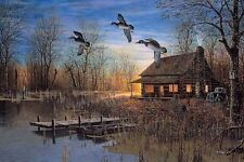 Passing Through Duck Cabin Print By Jim Hansel 33 x 17