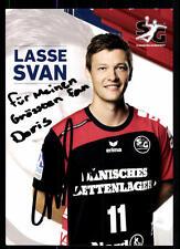 Lasse Svan Flensburg Handewitt Autogrammkarte Original Signiert + A 10119