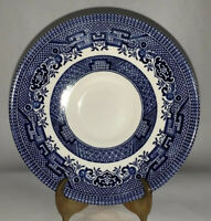 """Blue Willow 5 1/2"""" Saucer by Churchill Potteries England"""