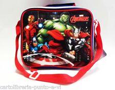 Cestino Borsa termica Avengers Marvel con Tracolla regolabile e manico