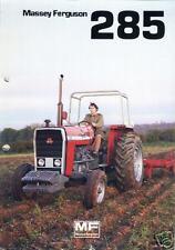 Massey Ferguson Mf 285 Manuals 100pgs w/ Mf285 Tractor Operations Service Repair