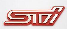 Badge Emblem Rear Trunk Logo Legacy WRC GC8 GDB GRB Fit WRX Impreza Subaru Sti