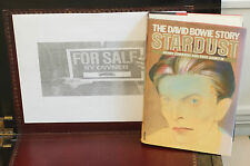 Rare David Bowie Stardust The David Bowie Story Hard Cover 1st Ed Mc Graw Hill