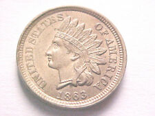 •1863 Indian Head Cent..Uncirculated..Choice/Gem Mintstate...No Reserve Auction•