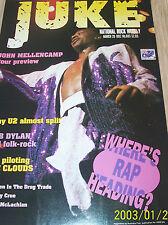 MC HAMMER / RAP - JUKE OZ MUSIC MAG -1992- U2 / MELLENCAMP / BOB DYLAN / CLOUDS