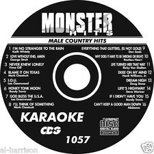 KARAOKE MONSTER HITS CD+G MALE COUNTRY HITS #1057