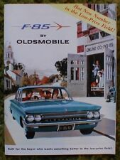 1961 Oldsmobile F-85 Sales Brochure 61