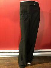 CALVIN KLEIN Women's Black Curvy Fit Trouser Leg Pant - Size 18W - NWT $99