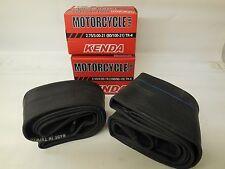 """Kenda Motocross Tube Kit 80/100-21"""" + 100/90-19"""" Motorcycle Tube Set - New"""