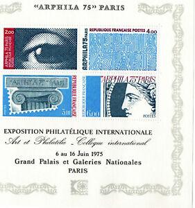 BLOC n°  7 Arphila 75 de 1975  NEUF **  LUXE