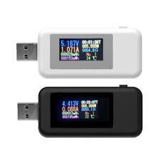 10 in1 USB digitale tester Corrente Tensione Misuratore Rilevatore di alimentazione caricatore Voltmetro