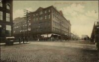 Bridgeport CT Atlantic Hotel c1910 Postcard