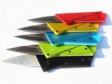 Steel Cardsharp Credit Card Thin Folding Razor Portable Sharp Wallet Knife
